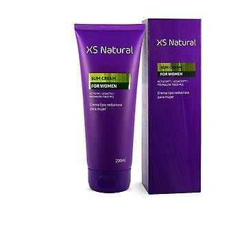 XS Natural Slim Cream for Women 200 ml of cream