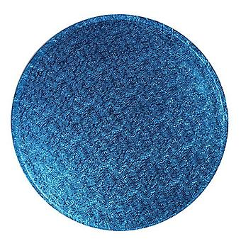 "12"" (304mm) Cake Board Round Dark Blue - Pojedynczy"