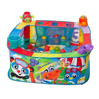 Playgro grow 'n' play pop and drop activity ball pit