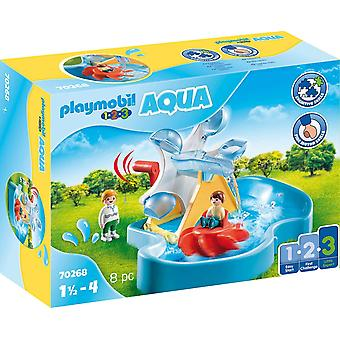 Playmobil Aqua Water Wheel Carrossel Playset