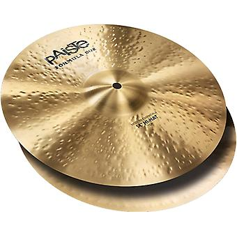 Paiste 14 inches formula 602 modern essentials hi-hat cymbals