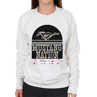 フォード マスタング ネイション ウィメンズ&アポス;s スウェットシャツ