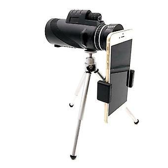 40X60 monokulární dalekohled duální zaostřovací optika zoom objektiv rozsah pro lov kempování