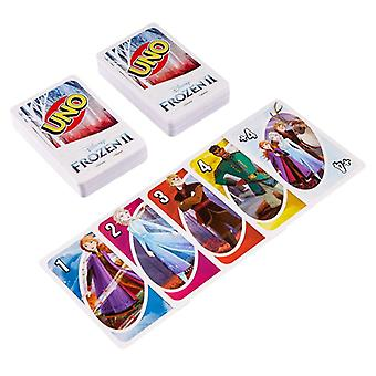 Uno jeu de cartes sous licence congelés 2
