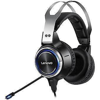 Wired gaming headset virtual 7.1 channel surround sound with high sensitivity noise reduction microphone
