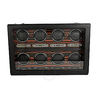Wolf Roadster Eight Piece Watch Winder with Cover 459356
