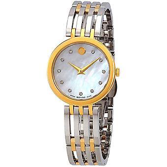 Movado Esperanza Two-Tone Ladies Watch 0607305