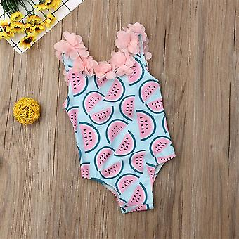 2020 Toddler Infant Baby Watermelon Swimsuit Swimwear Swimming Bikini One-piece