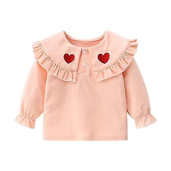Baby Long Sleeve Cute Cotton Love T-shirt