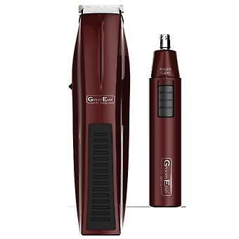 Wahl 5537-7017 Groom Ease Hair Beard Cutter Nasal Ear Nose Trimmer Clipper Set