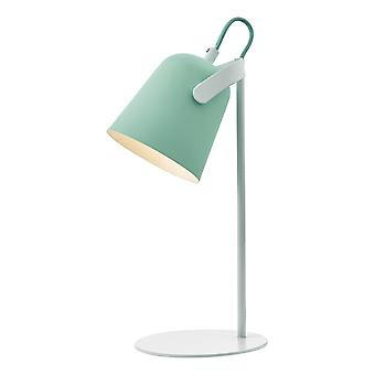 Task Table Lamp Pale Green and White