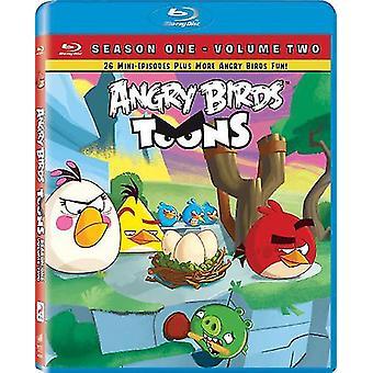 Angry Birds Toons: Importación de los E.e.u.u. primera temporada Vol dos [BLU-RAY]