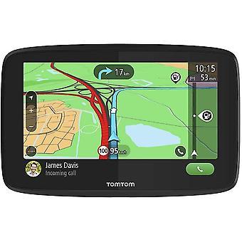 FengChun Navigationsgerät GO Essential (6 Zoll, Stauvermeidung dank Traffic, Karten-Updates Europa,