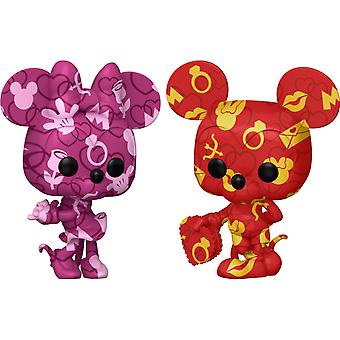 Mickey Mouse Mickey and Minnie US Pop! Vinyl Bundle