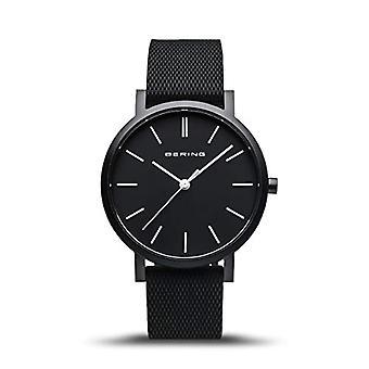 BERING Analoog Horloge Unisex Quartz met Siliconen Band 16934-499