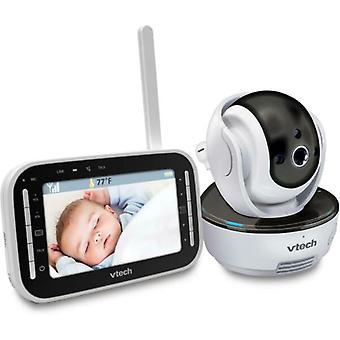 VTech VM343 Pan & Tilt Färg Video Baby Monitor, Infraröd Nattvision