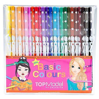 TOPModel Pencil Set 24 Colours