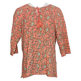 Belle af Kim Gravel Kvinders Top TripleLuxe Strik Bluse Pink A347143