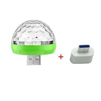 Usb Mini Disco Dj Stage Lighting Effect Lumière