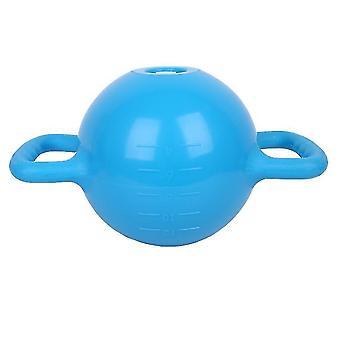 الأزرق kettlebell اليوغا معدات اللياقة البدنية حقن المياه لزيادة الوزنالسهل لحمل وسريعة لاستخدام x2303