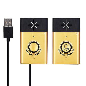 Smart Home Security Door Bell/voice Intercom, 2-way Talk Monitor