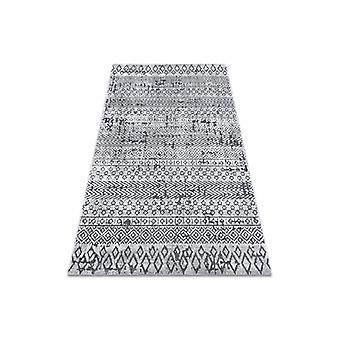 Rug Structural SIERRA G6042 Flat woven light grey - geometric, ethnic