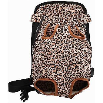 M leopard hs-free rucsac reglabil sac de călătorie pentru animale de companie rase în aer liber dt7012