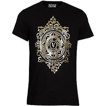 Versace Jeans Couture Emblem Leaf T-Shirt