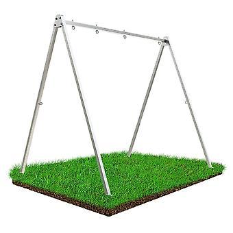 Swing Rahmen Hängematte Rahmen 260 x 195 x 230 cm – Inkl. Haken