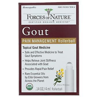 Forces of Nature Gout Pain Management, 4 ml