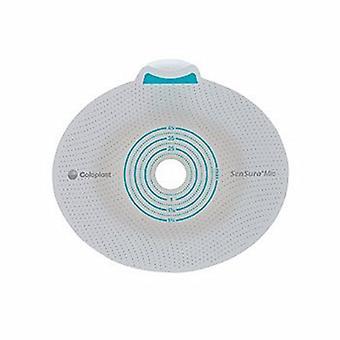 Coloplast Ostomy Barrier SenSura Mio Flex Trim to Fit, Standard Wear Elastic 50 mm Red Code 3/8 to 1-7/8 Inch, 5 Count