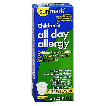 Sunmark Sunmark Childrens All Day Allergy Oral Solution, Cherry 4 oz