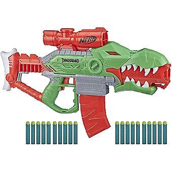 Nerf DinoSquad Rex-Rampage Motoriserad Dart Blaster