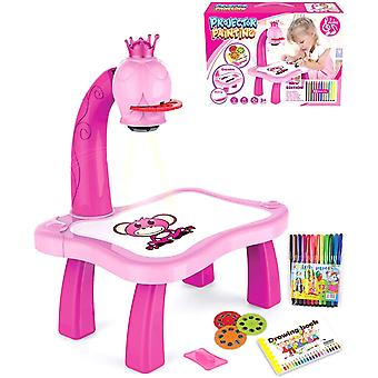 Kids Drawing Projector Table, Kids Learning Tables,drawing Playset