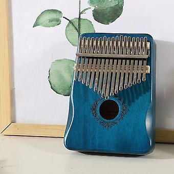 17 Keys kalimba portable thumb finger piano mahogany musical instruments calimba mbira for child adult beginner kalimba