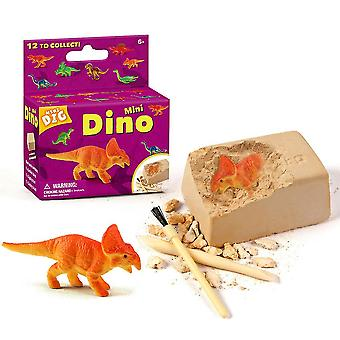 Mini Dino Excavation Dig Science Kits Children Archeology Biology Party Toys