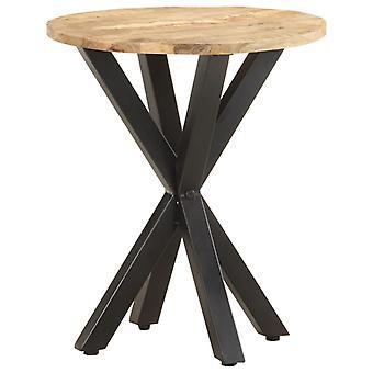 vidaXLサイドテーブル48x48x56 cmマンゴー無垢材