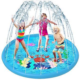 Sprinkler Play Matte, Splash Pad Wasser-Spielmatte Sommer Garten Wasserspielzeug Kinder Baby Pool