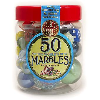 50 of The World's Best Marbles by