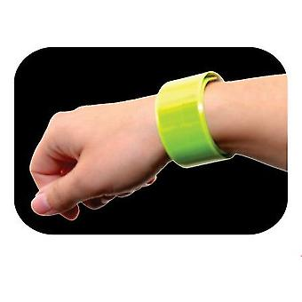 Reflexband för vrist i gult reflex vuxna & barn cykel mörker