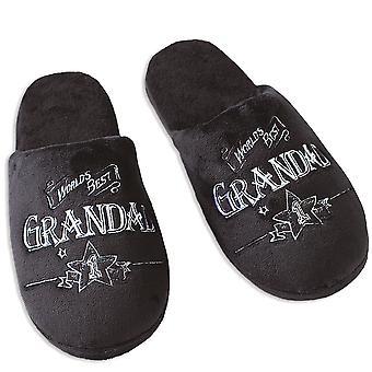 Ultimatives Geschenk für Männer Hausschuhe Große UK Größe 11-12 Grandad