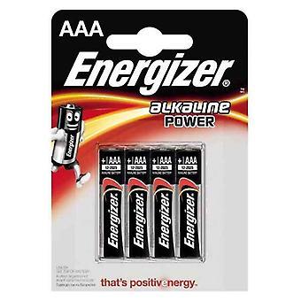 Batteries Energizer 90081 LR03 AAA (4 uds)