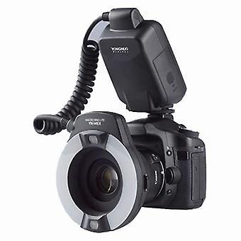 Yn-14ex Ttl Led Macro Speedlite Anello Flash Light Per Canon 5d-mark-ii