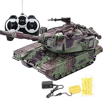 Military War Rc Battle Tank Interactive Remote Control Toy Car With Shoot