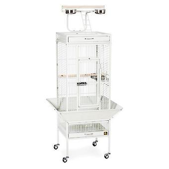 """Prevue Select Bird Cage - White - 18""""L x 18""""W x 57""""H"""