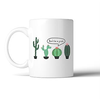 Kaktus seien Sie kein Prick Becher Kaffee Becher Lady Geburtstag Weihnachtsgeschenk