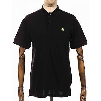 Carhartt WIP Chase Polo Shirt - Zwart