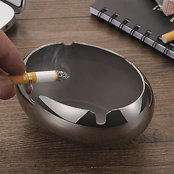 1PC Cenicero creativo de acero inoxidable cenicero resistente a altas temperaturas