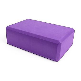 Yoga block skum tegelsten för stretching hjälp, gym, pilates, yoga etc.(Lila)
