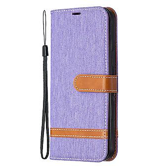 Flip Cover For Iphone 12 Pro Max Denim Pattern